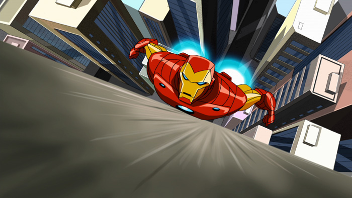 Iron Man on The Avengers: Earth's Mightiest Heroes