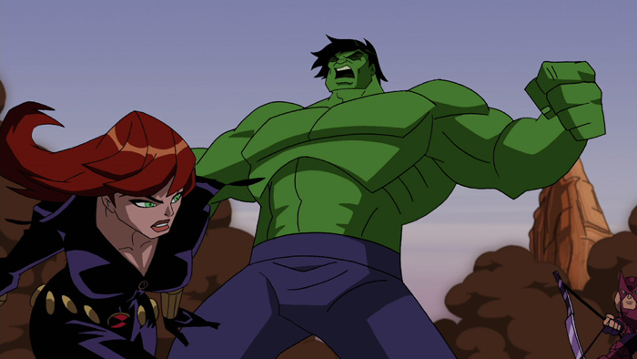 Hulk on The Avengers: Earth's Mightiest Heroes