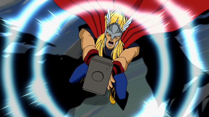 Thor in The Avengers: Earth's Mightiest Heroes