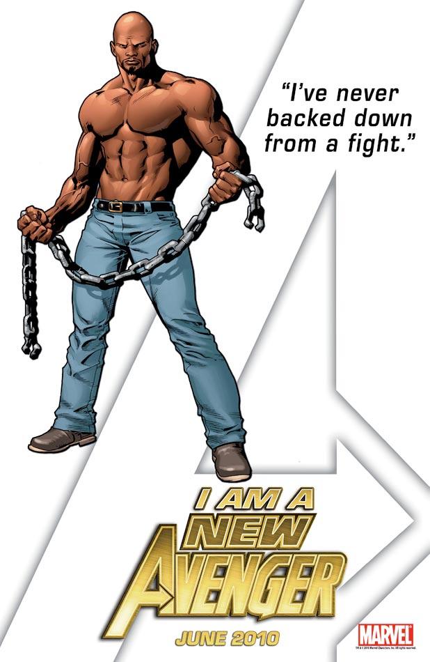 New Avengers Teaser - Luke Cage