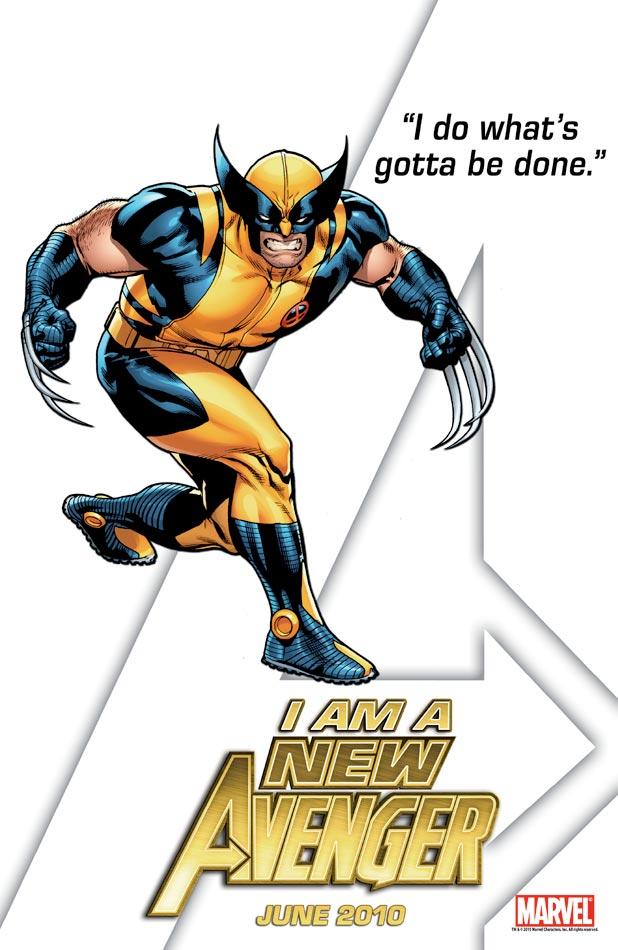 New Avengers Teaser - Wolverine
