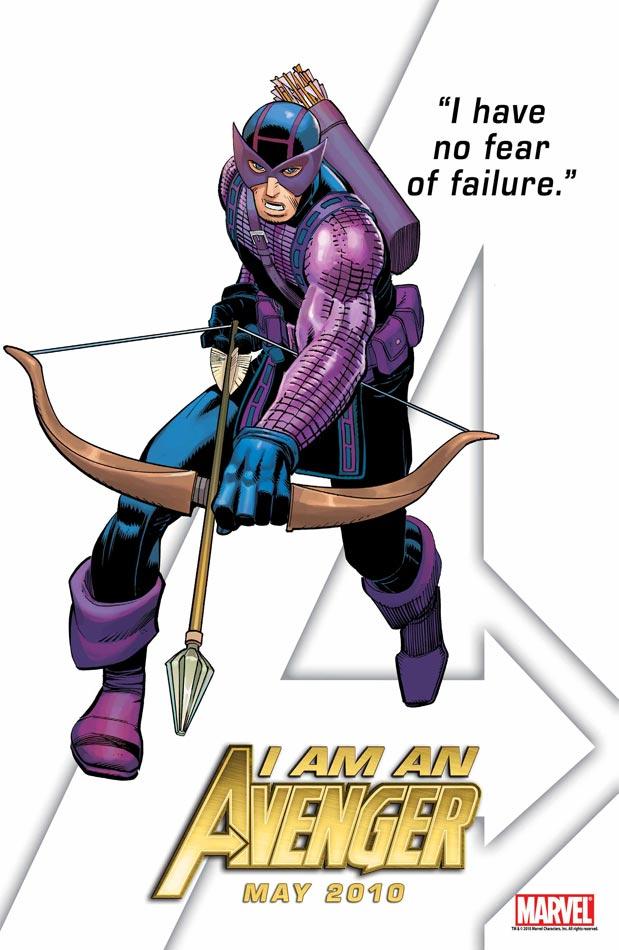Avengers Tease - Hawkeye