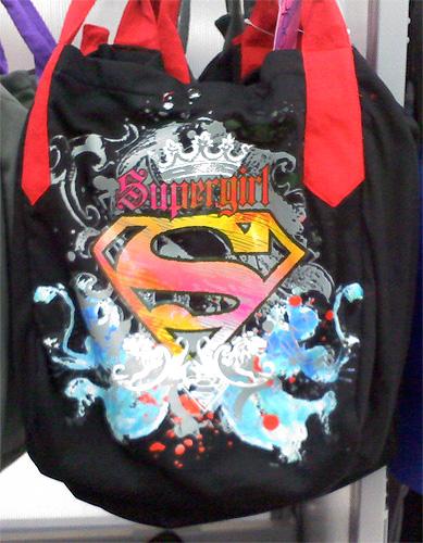 Supergirl Tote Bag