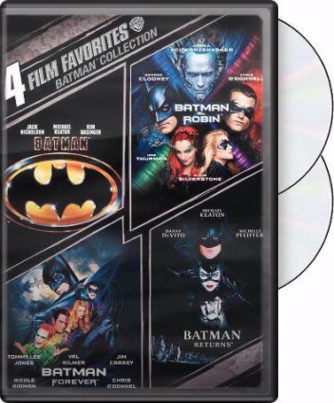 All Four Batman Films on DVD
