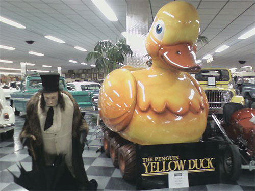 Penguin's Duck from Batman Returns