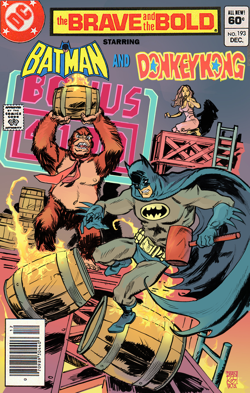 Brave and the Bold: Batman and Donkey Kong