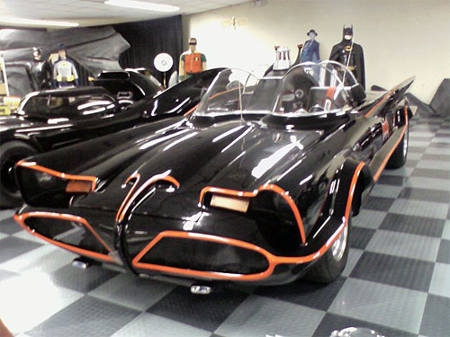The 1960's TV Batmobile