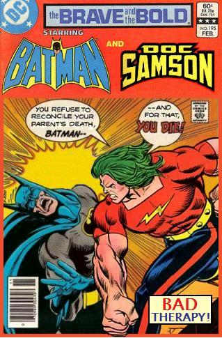 Brave and the Bold: Batman and Doc Samson