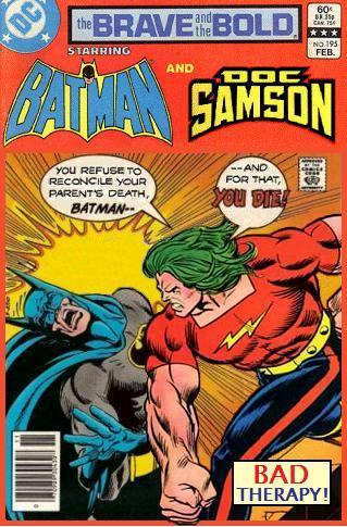 Brave and the Bold: Batman and Doc Samson