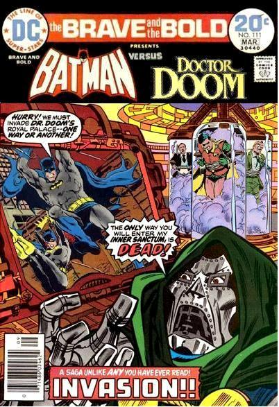Brave and the Bold: Batman and Doctor Doom