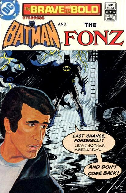 Brave and the Bold: Batman and the Fonz