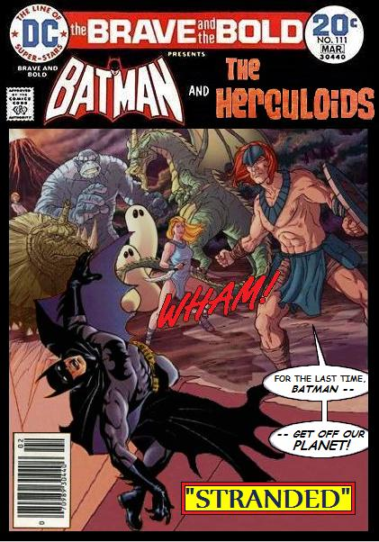 Brave and the Bold: Batman and the Herculoids