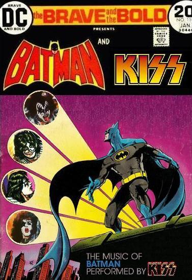 Brave and the Bold: Batman and Kiss