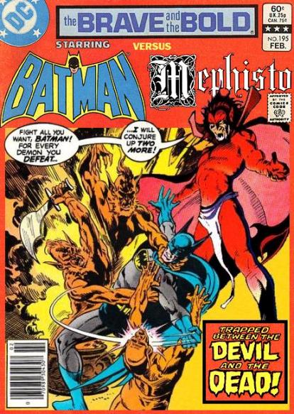 Brave and the Bold: Batman and Mephisto