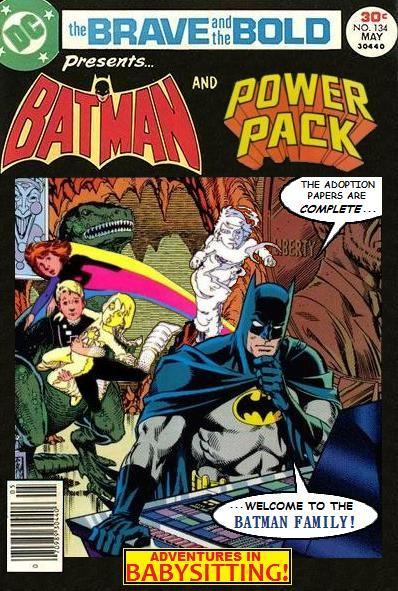 Brave and the Bold: Batman and Power Pack