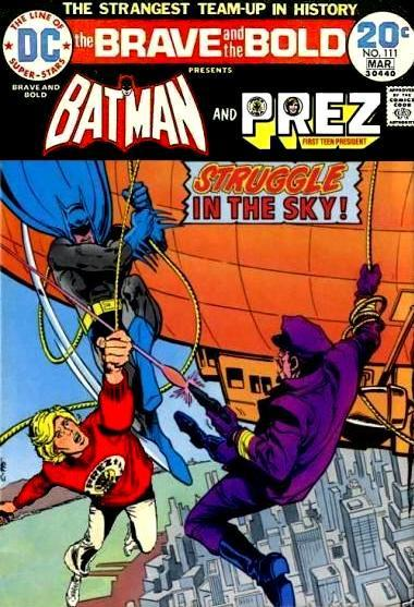 Brave and the Bold: Batman and Prez