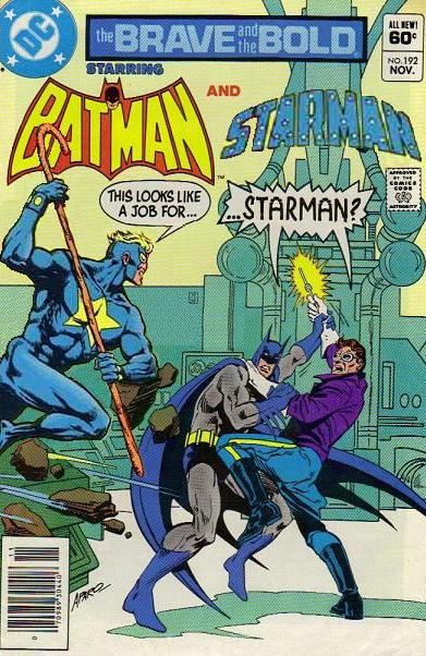 Brave and the Bold: Batman and Starman