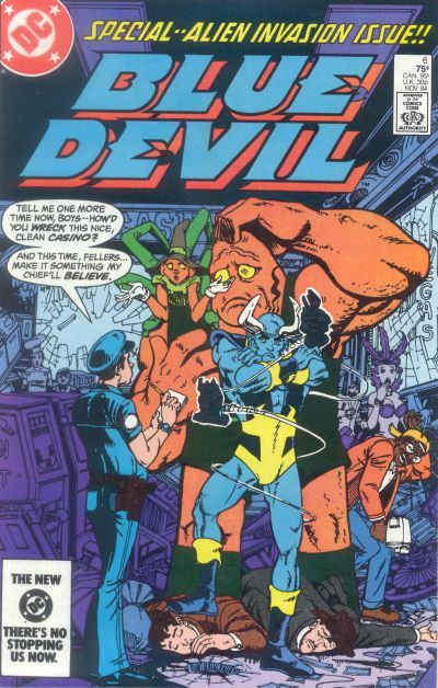 Blue Devil #6