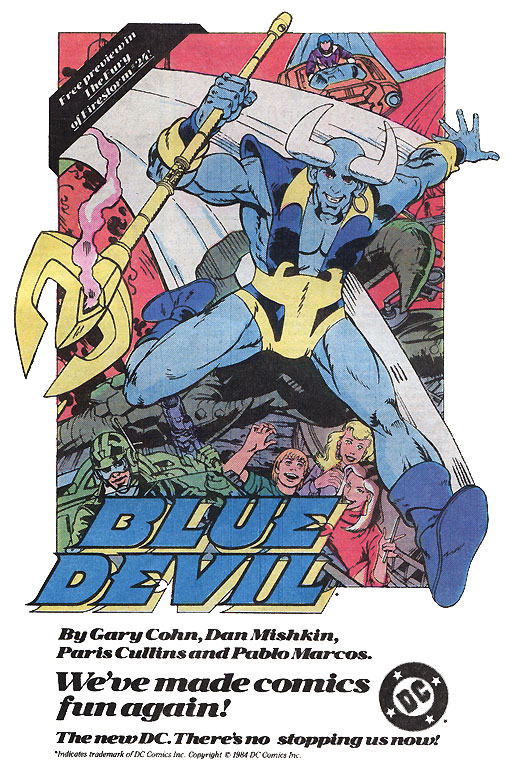 Blue Devil advertisement