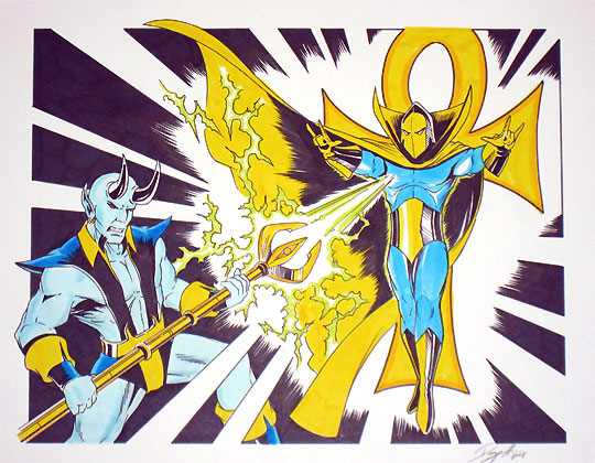 Blue Devil vs Doctor Fate