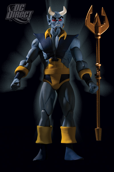 Blue Devil action figure
