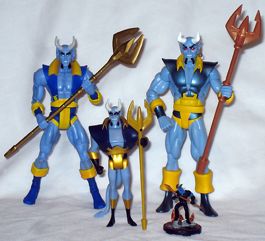 Blue Devil DC Comics action figures