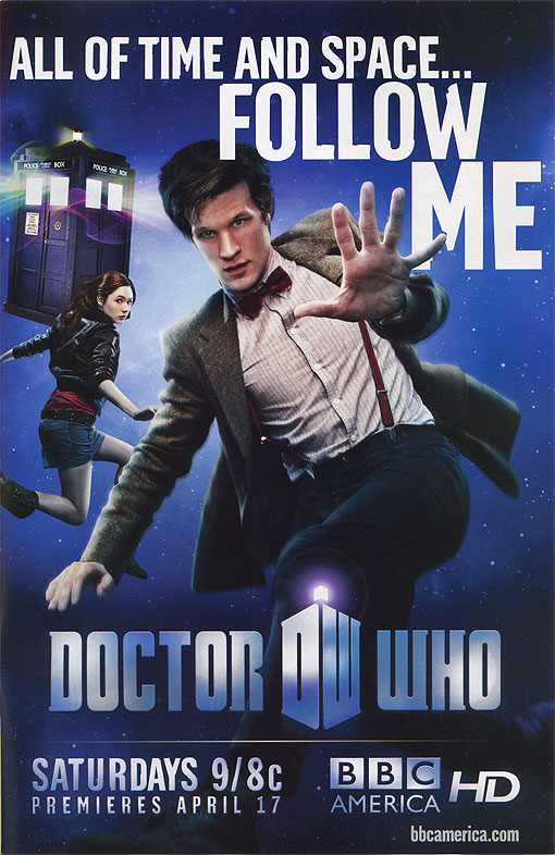 Doctor Who Advertisement in Brightest Day #0