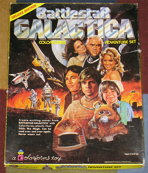 Battlestar Galactica Colorforms