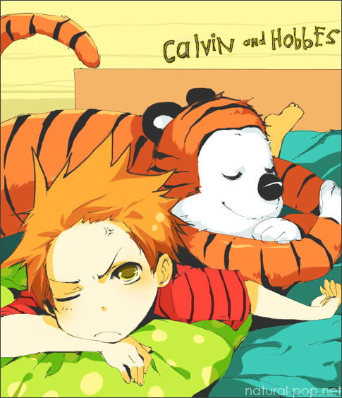 Calvin and Hobbes by ~loveariddle