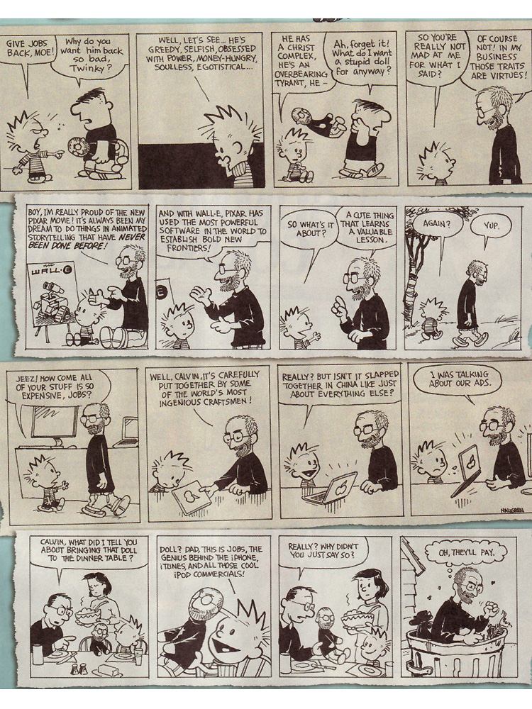 Calvin and Jobs Parody by Jacob Lambert and Gary Hallgren