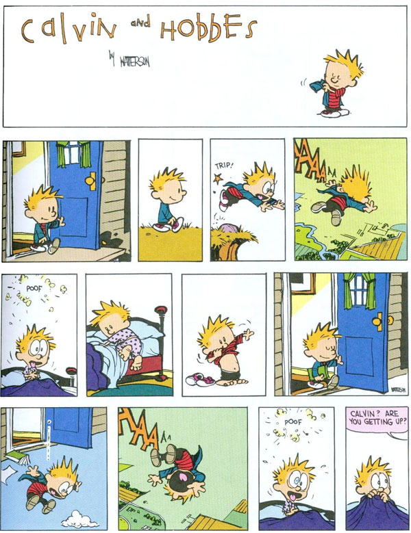 Calvin and Hobbes - Inception