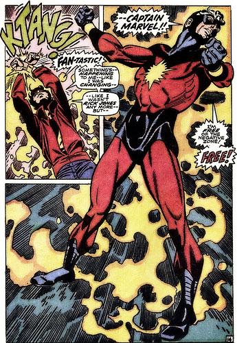 Captain Marvel and Rick Jones