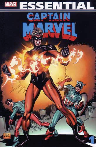 Essential Captain Marvel volume I