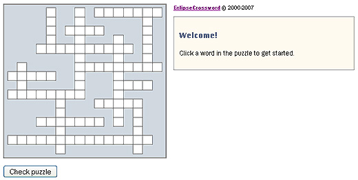 Click here to do the crossword puzzle