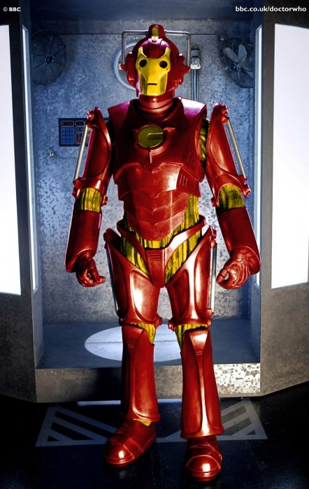 Cyberman as Iron Man