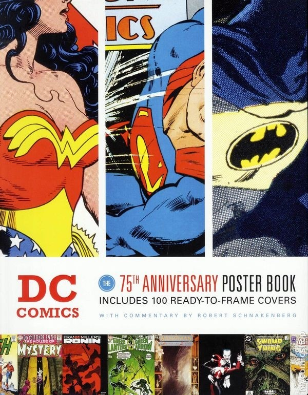 DC Comics The 75th Anniversary Poster Book