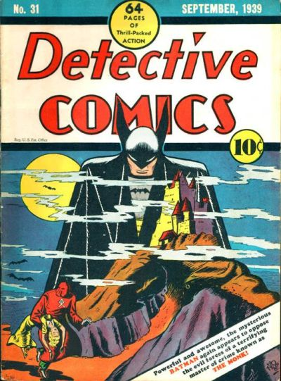 Detective Comics #31 starring Batman