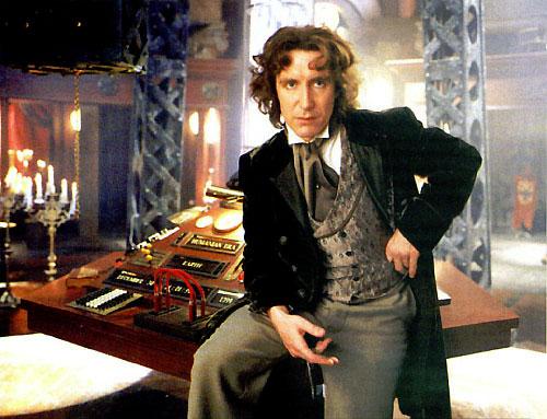 Paul McGann as Doctor Who