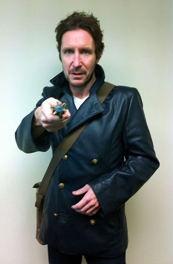 Paul McGann's new Doctor Who costume