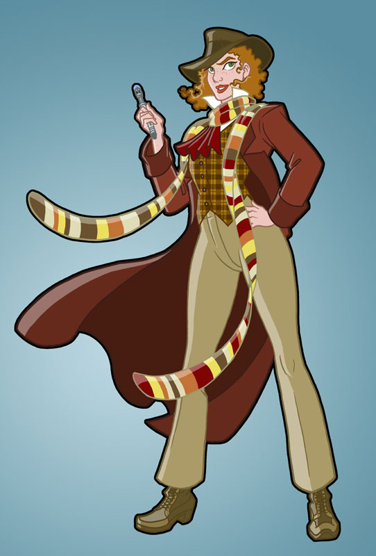 Doctor Who by Bill Mudron - Who Looks Like a Lady