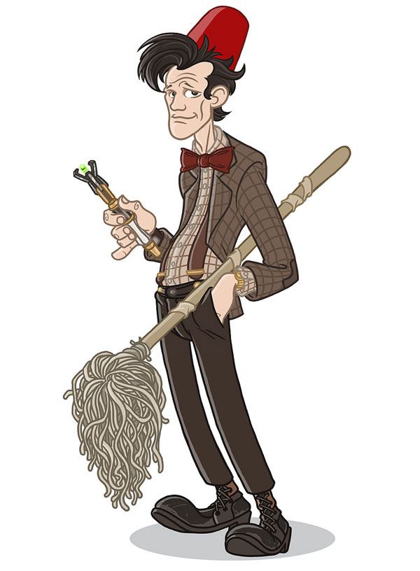 Doctor Who by Bill Mudron - Who Redux