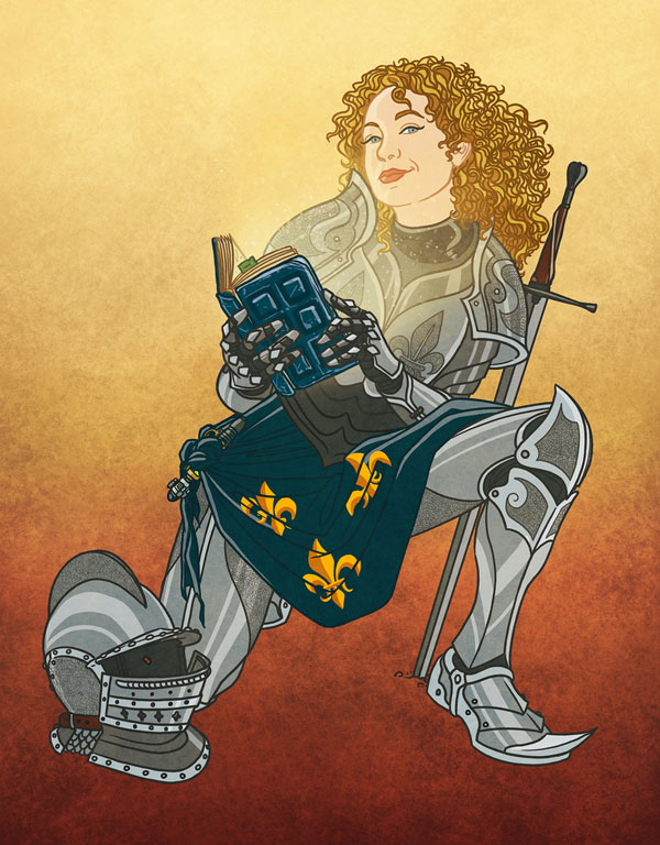 Doctor Who by Bill Mudron - 15th-century River Song