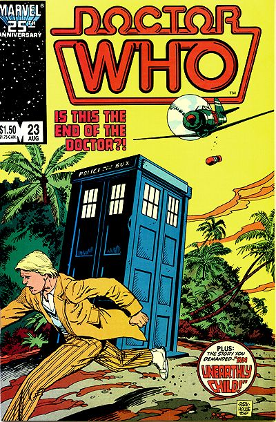 Marvel Comics Doctor Who #23