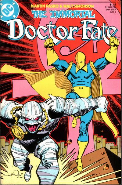 The Immortal Doctor Fate mini-series 1985