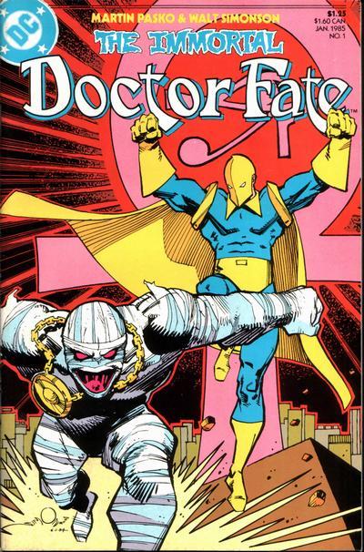 The Immortal Doctor Fate mini-series 1985