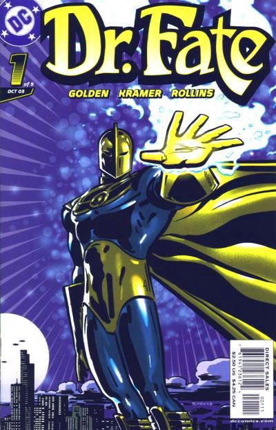 Dr. Fate five issue mini-series 2003