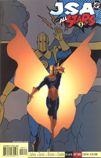 Doctor Fate in JSA: All Stars #3 2003