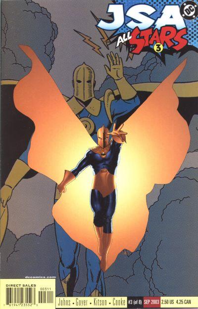 Doctor Fate in JSA: All Stars #3 2003