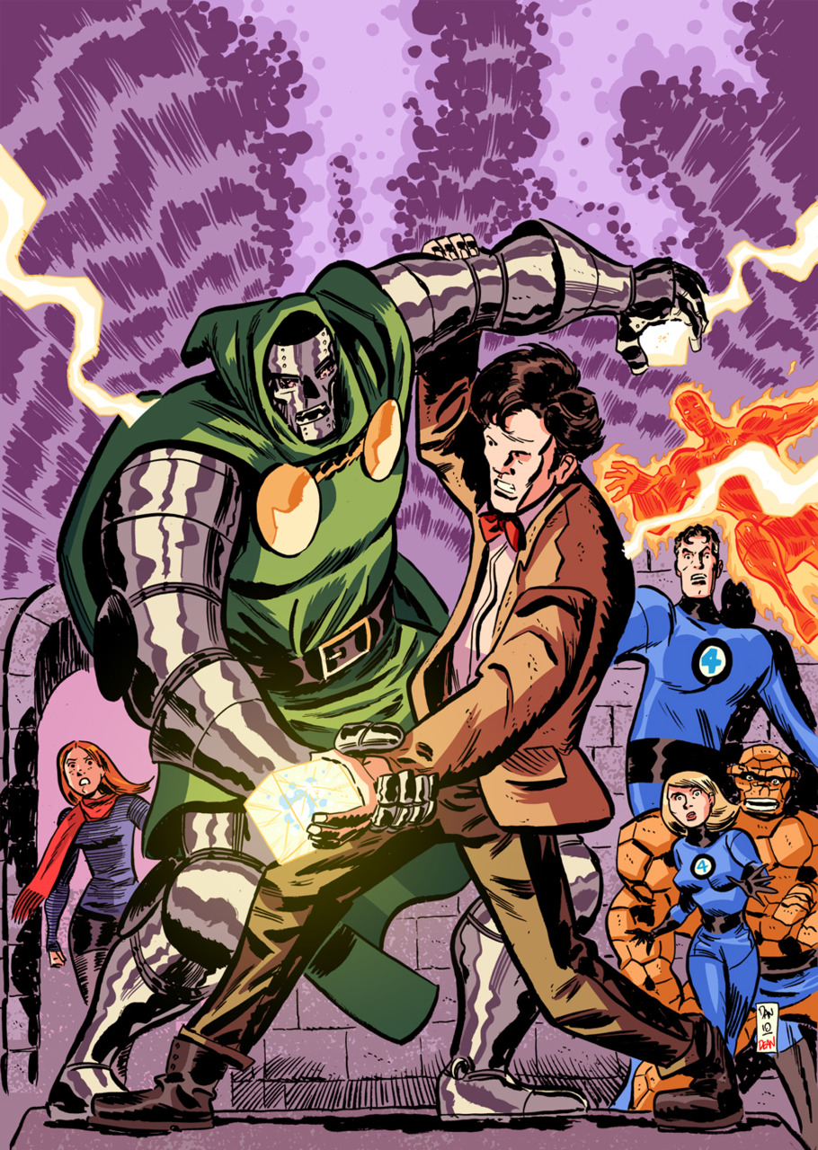 Doctor Doom versus Doctor Who