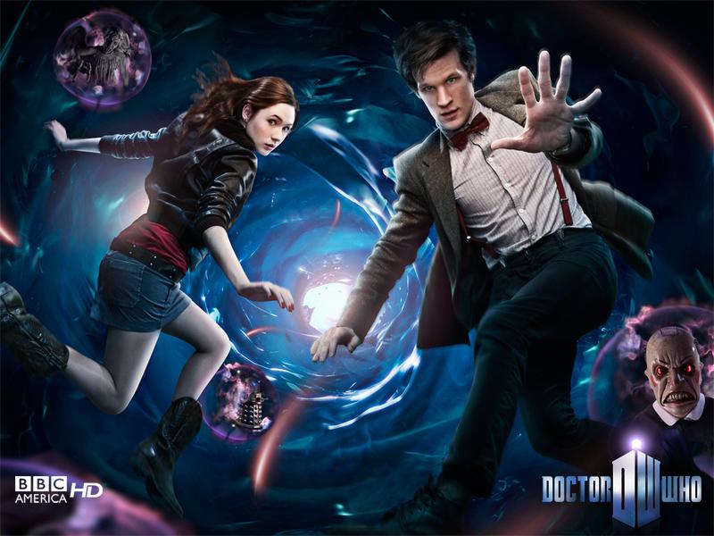 Doctor Who Season 5 with Matt Smith and Karen Gillan